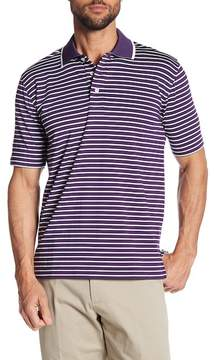 Brooks Brothers Golf Jersey Striped Polo Shirt