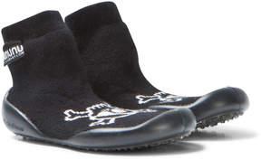 Nununu Black Skull Slippers