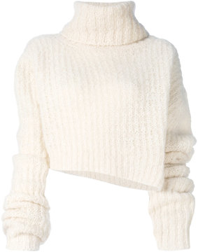 Ann Demeulemeester ribbed knit jumper