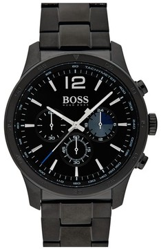 BOSS Men's Professional Chronograph Bracelet Watch, 42Mm