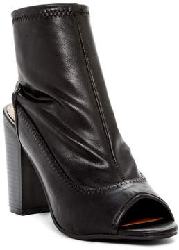 Rampage Tionna Peep Toe Ankle Boot