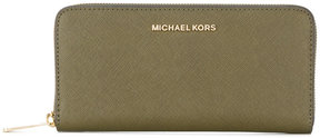 MICHAEL Michael Kors Jet Set continental purse - GREEN - STYLE