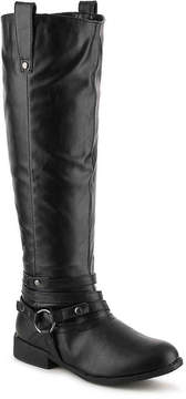Journee Collection Women's Walla Extra Wide Calf Riding Boot