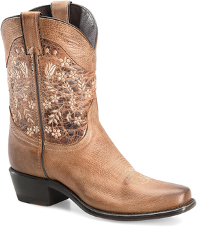 Sonora Taupe Maggie Leather Cowboy Boot