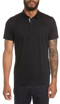 BOSS Men's Press 21 Solid Regular Fit Polo