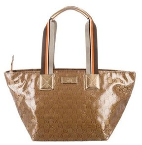 Gucci GG Crystal Tote - GOLD - STYLE