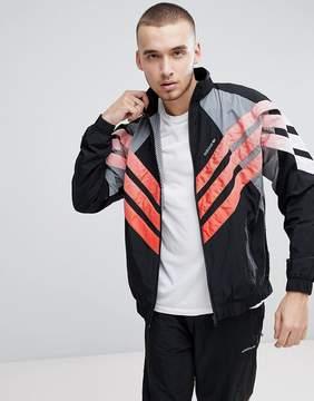 adidas Vintage Track Jacket In Black CW4988