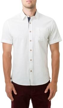 7 Diamonds Men's Mystic Traveler Woven Shirt