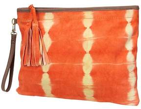 Batik Suede Clutch by Flora Bella
