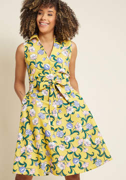 Moon River Moxie Beyond Measure Linen Shirt Dress