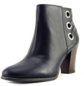 INC International Concepts Jesaa Women Round Toe Synthetic Black Ankle Boot.