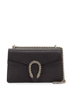 Gucci Pebbled Leather Shoulder Bag, Black - BLACK - STYLE