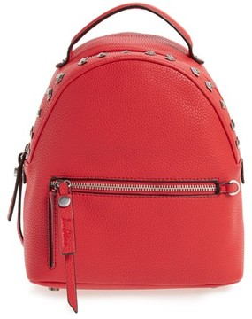 Sam Edelman Sammi Leather Backpack - Red
