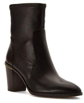 Michael Kors MICHAEL Womens Chase Ankle Boot Almond Toe Ankle Plum