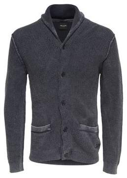 ONLY & SONS Washed Knit Cotton Cardigan