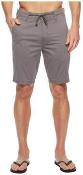 VISSLA Maghurst Sanded Twill Walkshorts 20 Men's Shorts