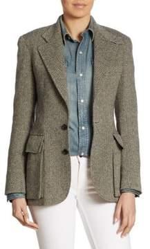 Ralph Lauren Collection Iconic Preston Herringbone Jacket
