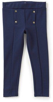 Edgehill Collection Little Girls 2T-6X Ponte Pants