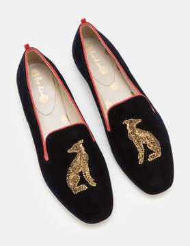Boden Violetta Embellished Slippers