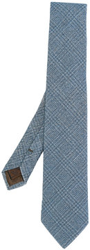Church's crosshatch patterned tie