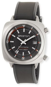 Briston Clubmaster Diver Automatic Watch, Gray