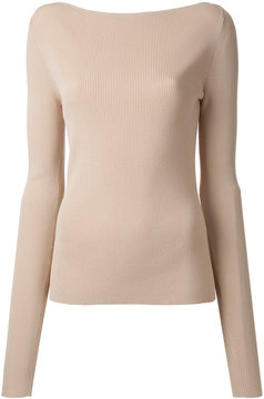 Dion Lee Pinacle knitted blouse
