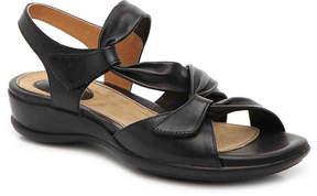 Clarks Women's Artisan Lucena Wedge Sandal