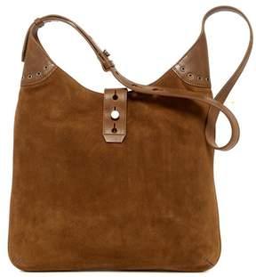 Lucky Brand Rose Suede Shoulder Bag