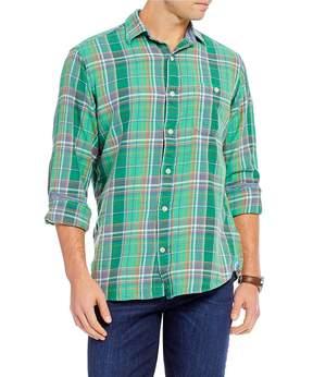 Daniel Cremieux Sologne Plaid Long-Sleeve Woven Shirt