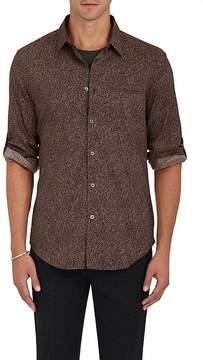 John Varvatos Men's Everly Floral Slim-Fit Sport Shirt