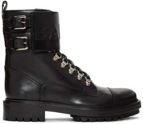 Balmain Black Ranger Boots