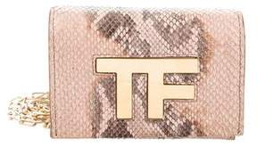 Tom Ford Python Crossbody Bag