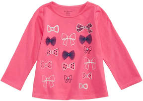 First Impressions Bows-Print T-Shirt, Baby Girls (0-24 months), Created for Macy's