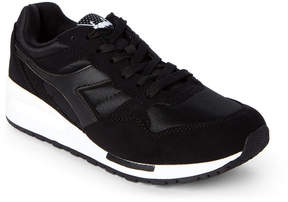 Diadora Black Intrepid Nylon Jogger Sneakers