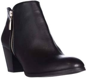 Style&Co. Sc35 Jamila Dress Block-heel Ankle Booties, Black.