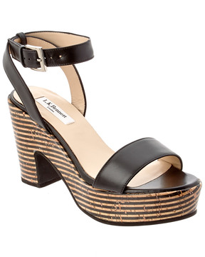 LK Bennett L.K.Bennett Gillian Leather Sandal