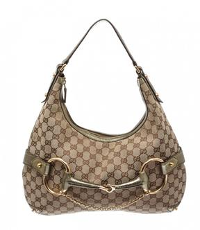 Gucci Hobo leather handbag - BROWN - STYLE