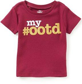 Baby Starters Baby Girls 12-24 Months My #OOTD Short-Sleeve Tee