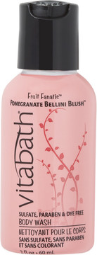 Vitabath Travel Size Pomegranate Bellini Blush Body Wash