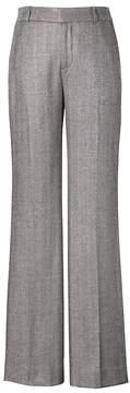 Banana Republic Blake Wide Leg-Fit Metallic Herringbone Pant