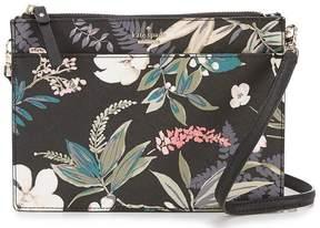 Kate Spade Cameron Street Botanical Clarise Cross-Body Bag - BLACK MULTI - STYLE