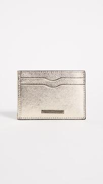 Rebecca Minkoff Metro Card Case - LIGHT GOLD - STYLE