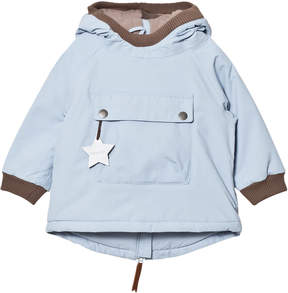 Mini A Ture Blue Fog Wen Baby Jacket