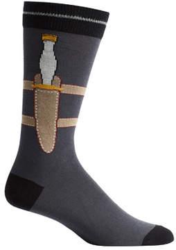 Ozone Men's Dagger Socks (2 Pairs)