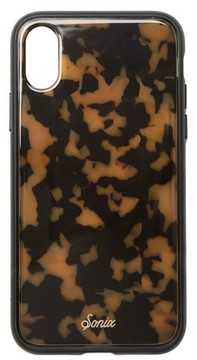 Sonix Tortoise Print Iphone X Case - Brown