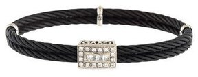 Charriol 18K Diamond Celtic Noir Bracelet
