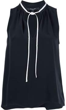 Derek Lam Sleeveless Blouse With Front Ties