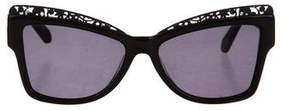 Karen Walker Atomic Cat-Eye Sunglasses