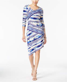 ECI Asymmetrical Sheath Dress