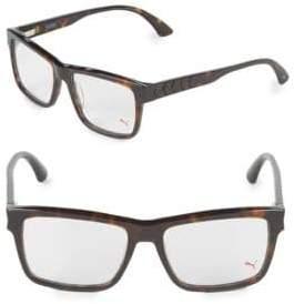 Puma 17MM Square Tortoiseshell Optical Glasses